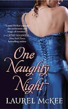 One Naughty Night (The Scandalous St. Claires)-ExLibrary