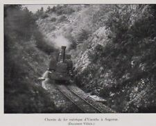 1935  --  CHEMIN DE FER METRIQUE D UZERCHE A ARGENTAT   3B229