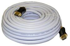 15M White High Speed HDMI Cable  v1.4 Ethernet  3D/HD 1080i/p