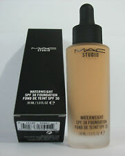 Mac Studio Waterweight Foundation SPF 30 - Shade: NC 40 - F/s 30ml - New in Box