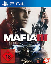 Mafia III 3 +Family Kick Back DLC- PS4 Spiel (Sony PlayStation 4, 2016) NEU OVP