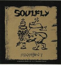 SOULFLY prophecy 2004 square VINYL STICKER official merchandise