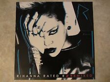 RIHANNA poster - RATED R REMIXED - promo poster - 12 x 12 inches