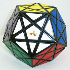 Black Mf8 Starminx 12 Color Polygonal Megaminx Magic Cube Twist Puzzle