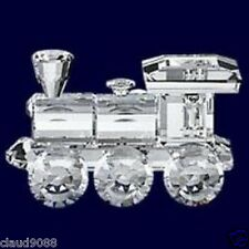 SWAROVSKI SILVER CRYSTAL 1988 LOCOMOTIVE WHEN WE WERE YOUNG 015145 MINT IN BOX