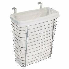 Hang Over Cabinet Waste Storage Basket Trash Can Bin Kitchen Bath Room Bathroom
