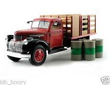 1:18 1:16 HIGHWAY 61 CHEVY TRUCK DUTY 1946 1:16 6 BARRELS MINT IN BOX RARE