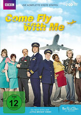COME FLY WITH ME komplette erste Staffel LITTLE BRITAIN Britcom 2 DVD Box Neu