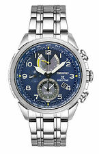Seiko Men's Prospex Solar World Time Chronograph Stainless Steel Watch SSC507