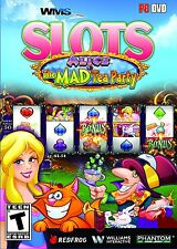WMS Slots Alice & The Mad Tea Party PC Games Windows 10 8 7 XP Computer Games