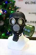 Russian USSR military Gas Mask GP-7 + white COMOUFLAGE jacket ORIGINAL VINTAGE