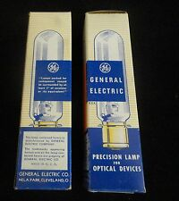 GENERAL ELECTRIC 100W 6V. VINTAGE PRECISION LAMP AND OPTICAL DEVICE NIB No.: 135