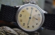 OMEGA 30T2 MILITARY STYLE JUMBO SIZE GENTS VINTAGE WATCH ON NATO STRAP c1940's
