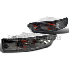 2003-2005 Mitsubishi Eclipse Front Bumper Lights Signal Lamps Smoke Depo