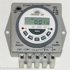 Flexcharge PRGTMR12V | Real Time Programmable Digital Timer 12V