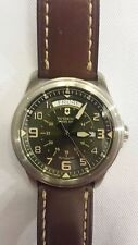 VICTORINOX Men's Swiss Army 241396 INFANTRY VINTAGE DAY & DATE AUTOMATIC WATCH