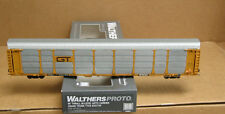 Walthers 920-101314 HO Grand Trunk 89' Thrall bi-level auto carrier TTGX #254187