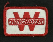 Vintage WINCHESTER Red & White Collectors Patch  - Gun Rifle New Old Stock