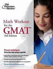 Math Workout for the GMAT, 3rd Edition (Graduate School Test Preparati-ExLibrary