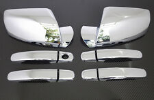 2010-2017 CHEVY EQUINOX + GMC TERRAIN CHROME DOOR HANDLE + MIRROR COVER