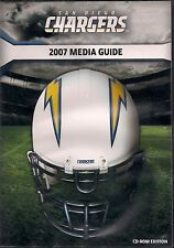 NFL-SAN DIEGO CHARGERS-2007 MEDIA GUIDE-CD ROM EDITION