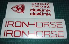 Iron Horse Sunday Bike Decals Stickers MTB Bike Racing 7Point DH TLD dw Link