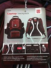 New Ful - Beale Street Laptop Backpack (Burgundy) MSRP 70$