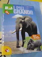 I più grandi! libro Puzzle per scoprire i giganti della terra 120 pezzi