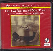 The Confessions of Max Tivoli by Andrew Sean Greer (2004, CD, Unabridged)