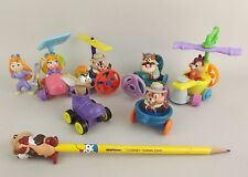 Lot Disney McDonalds Happy Meal Chip Dale Rescue Rangers Flying Machine Figures