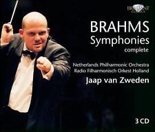 Brahms: Complete Symphonies - Jaap van Zweden - 3 CDs Box Set
