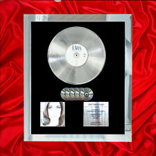 LARA FABIAN PURE  MULTI (GOLD) CD PLATINUM DISC FREE SHIPPING TO U.K.