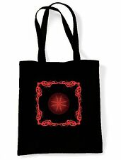 CELTIC FIRE SHOULDER  SHOPPING BAG - Pagan Druid Wicca Goth Gothic