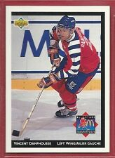 1992-93 Upper Deck McDonald's NHL All-Stars - #4 - Vincent Damphousse - Oilers
