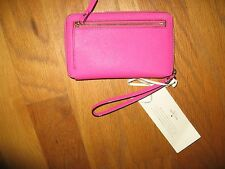 Kate Spade pink lacey zip around Wallet $148