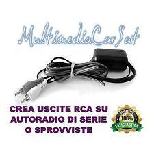 CONVERTITORE TRASFORMATORE RCA ALTO LIVELLO BASSO LIVELLO AUDIO HI FI CAR
