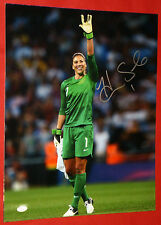 HOPE SOLO AUTOGRAPHED TEAM USA 16X20 PHOTO SOCCER GOALIE JSA