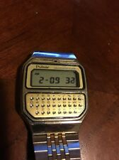 Vintage PULSAR (by Seiko) Y739 - 5019 Calculator - Alarm Watch