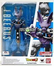 "In STOCK S.H. Figuarts Dragoball Z Super ""Beerus"" Beeris Bills DBZ Action Figure"