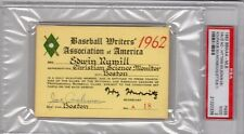 Sandy Koufax No-Hitter  PSA Ticket Pass 1962 Los Angles Dodgers/Red Sox No-Hit