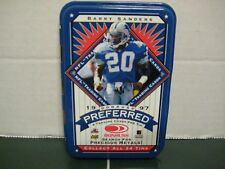 1997 Donruss Preferred Barry Sanders Empty Tin