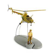 Moulinsart tintin tintin et milou hélicoptère MIL mn-1 avec Alcazar personnage statue