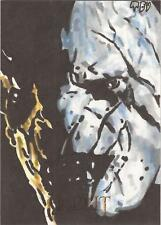 """The Hobbit An Unexpected Journey - Ted Dastick Jr """"Azog"""" Sketch Card"""
