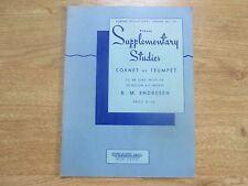 Rubank ulteriori studi, cornetta o tromba, R. ENDRESON, 1934
