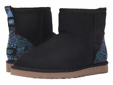 UGG Australia Classic Mini Liberty London Asphalt Boots US 8 UK 6.5 Eu 39 NEW