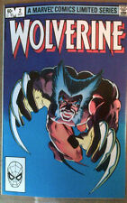 WOLVERINE (1982 Miniseries) #2 Frank Miller VF/NM-  Direct Edition