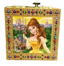 Disney Parks Beauty and the Beast Princess Belle Jewelry Music Box NEW