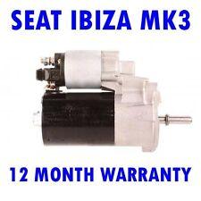 SEAT IBIZA MK3 MK III 1.0 1.4 1.6 1999 2000 2001 2002 RMFD STARTER MOTOR