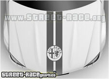 BS2009 Alfa Romeo bonnet racing stripes graphics stickers decals MiTo Giulietta