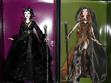 FARAWAY FOREST ELF QUEEN OF THE DARK FOREST BARBIE DOLL FANTASY